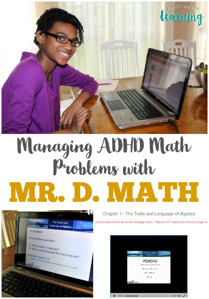 Tips for Managing ADHD Math Problems