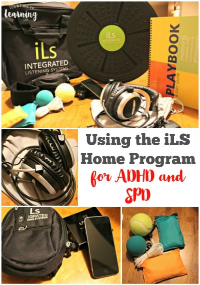 iLS Home Program for ADHD and SPD - Look! We're Learning!