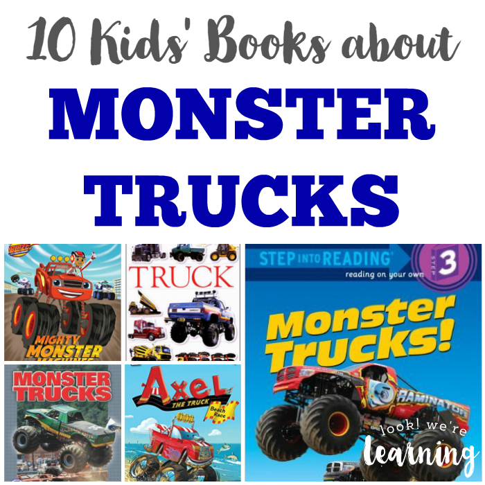 10 Kids Books about Monster Trucks