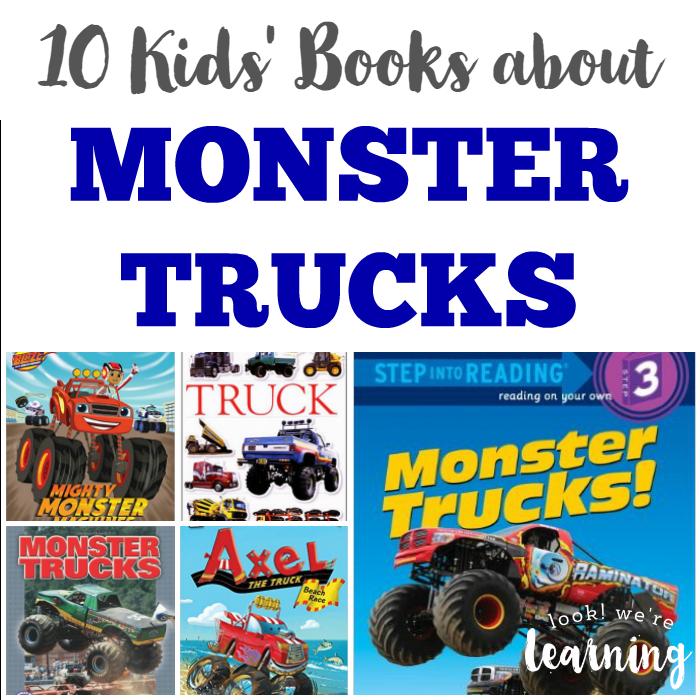 10 Kids Books about Monster Trucks
