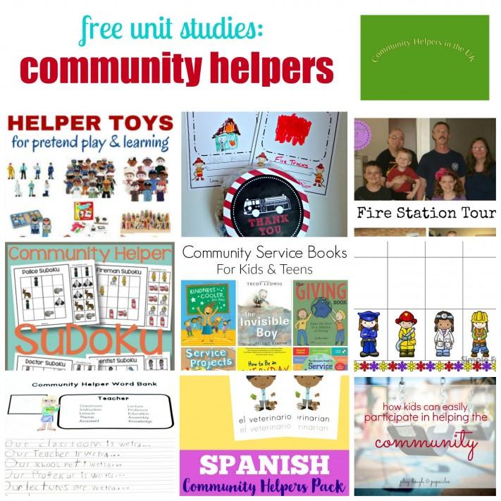 Community Helpers Unit Study