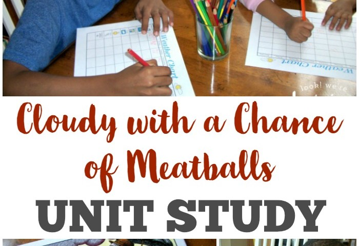 Homeschool Unit Studies: Cloudy with a Chance of Meatballs Unit Study