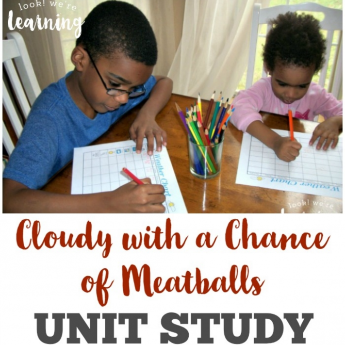 Cloudy with a Chance of Meatballs Unit Study for Kids