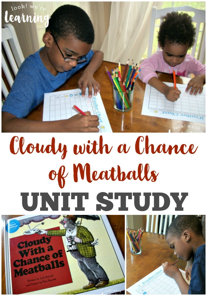 Cloudy with a Chance of Meatballs Unit Study