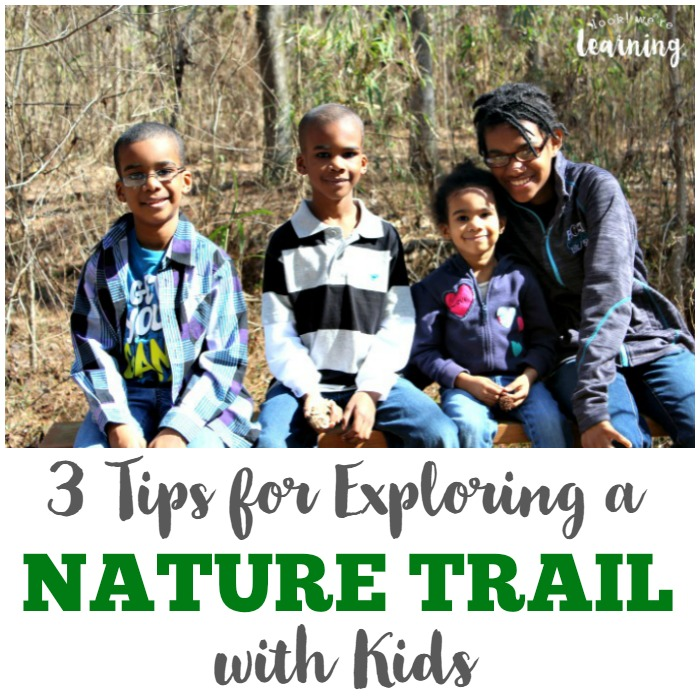 Exploring a Nature Trail with Kids