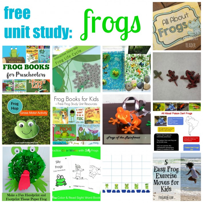Frog Unit Study Resources