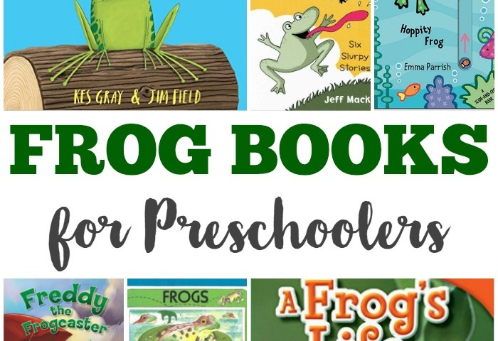 Fun Frog Books for Preschool