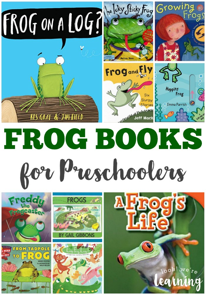 Fun Frog Books for Preschoolers @ Look! We're Learning!