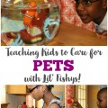 How to Teach Kids to Care for Pets with Fish Toys