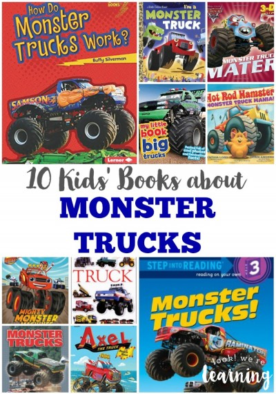 Kids Books about Monster Trucks