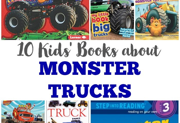 10 Books about Monster Trucks