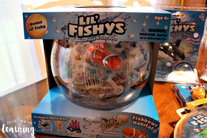 lil fishys motorized water pets instructions
