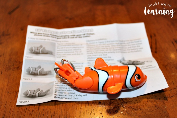 Lil Fishys Fish Toys Instructions