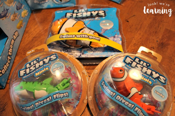How to teach kids to care for pets with fish toys look for Who sells fishing license near me