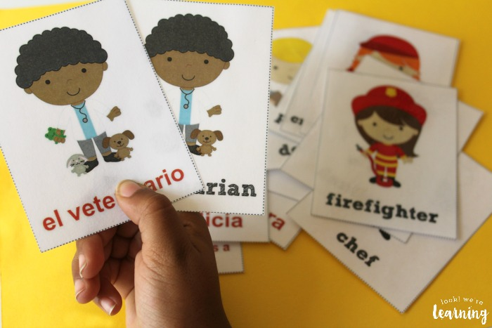 Spanish Community Helper Flashcards