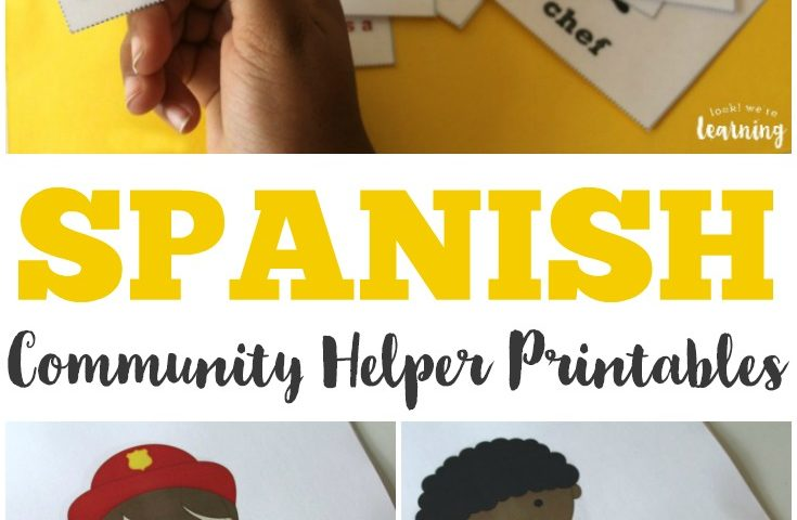 Spanish Community Helpers Printables
