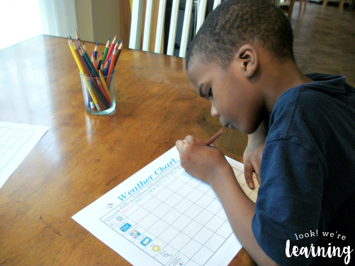 Tracking Weather with Kids