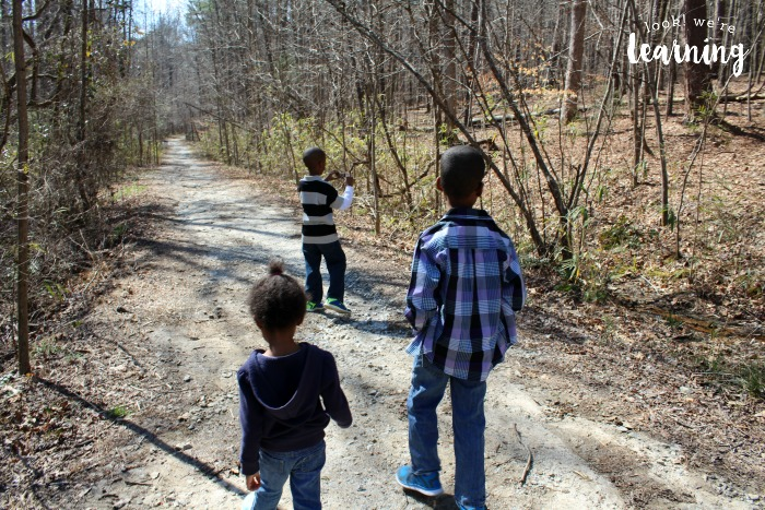 Visiting a Nature Trail with Kids