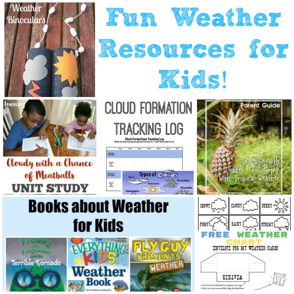 Fun Weather Resources for Kids