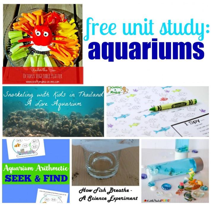 Free Aquariums Unit Study