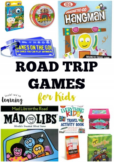 Road Trip Games for Kids