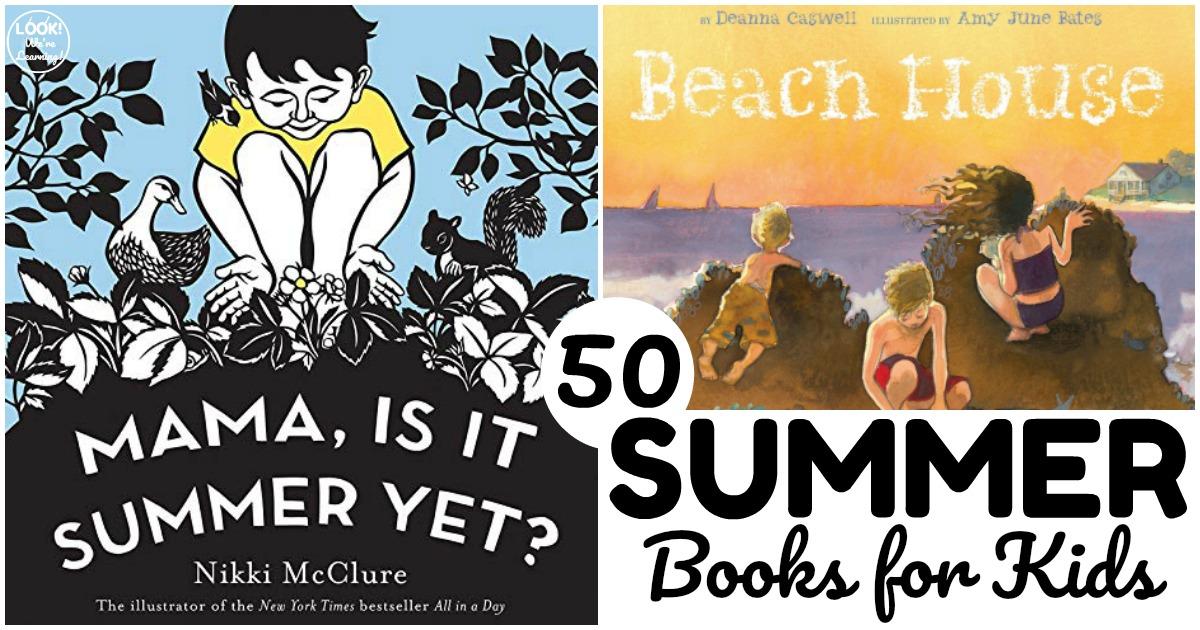 50 Fun Summer Books for Kids