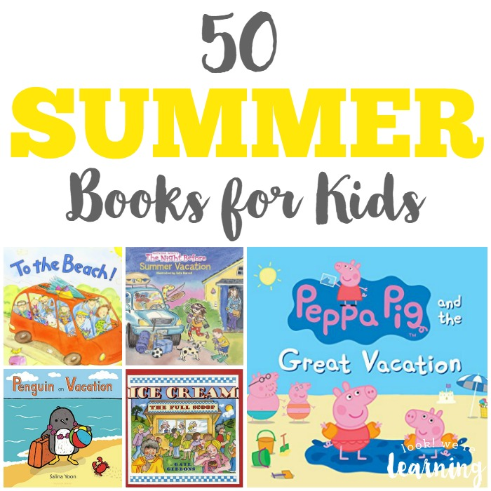 50 Summer Books for Kids
