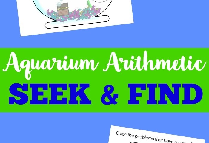 Aquarium Arithmetic Seek and Find