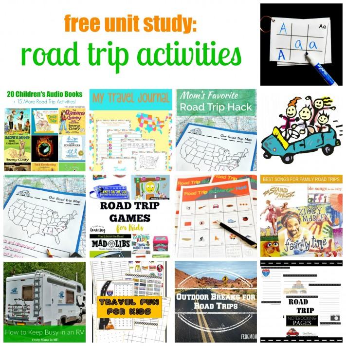 Road Trip Activities Roundup