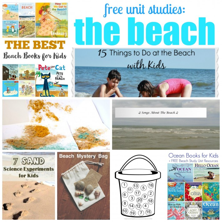 Beach Unit Study Resources