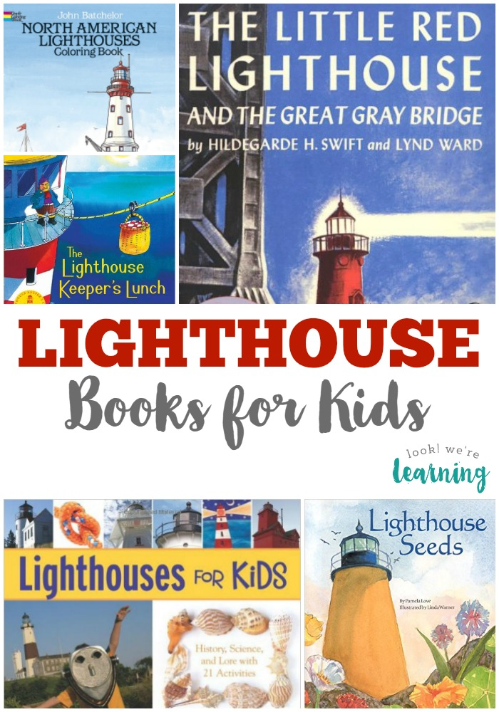 15 Childrens Lighthouse Books