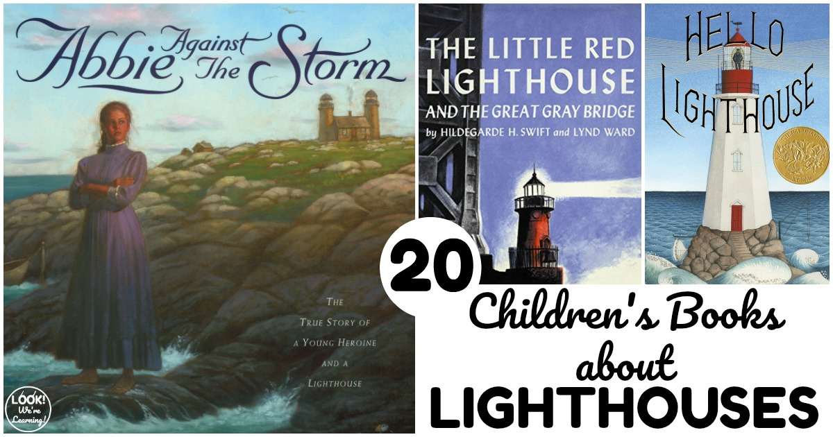 20 Books about Lighthouses for Kids