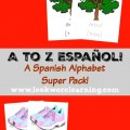 A to Z Espanol Spanish Alphabet Super Pack