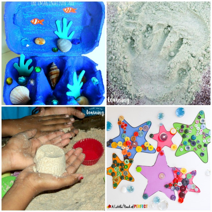 Fun Beach Crafts for Kids to Make
