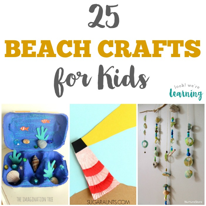 Fun Beach Crafts for Kids