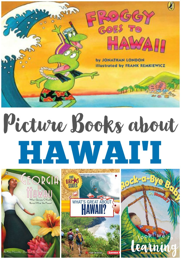 Kids' Picture Books about Hawaii