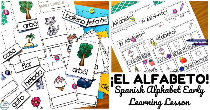 Printable Spanish Alphabet Literacy Center