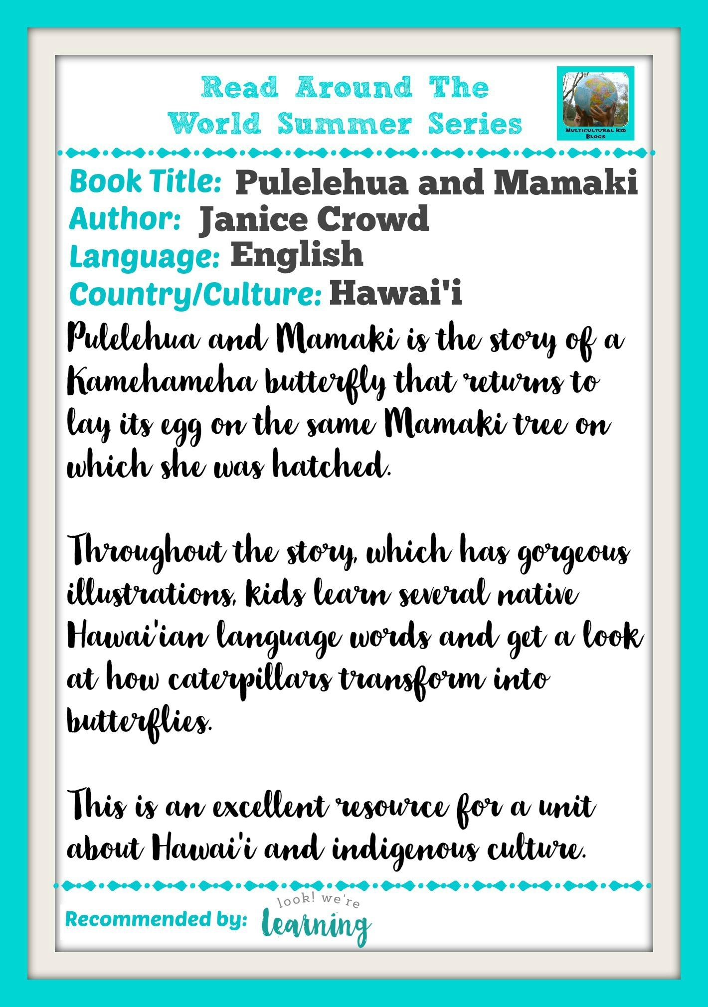 Pulelehua and Mamaki Book Review