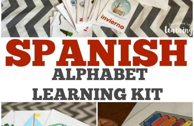 A to Z Español Spanish Alphabet Printables Super Pack