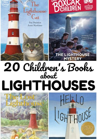 These books about lighthouses for kids make wonderful read alouds over the summer! Share some with young readers this year!