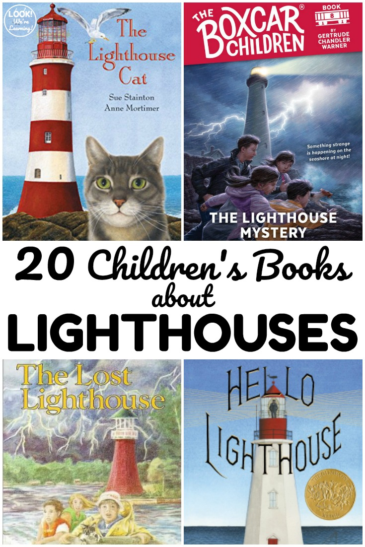 These books about lighthouses for kids make wonderful read alouds over the summer. Share some with young readers this year!