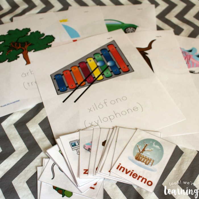 Using Spanish Alphabet Printables for Kids