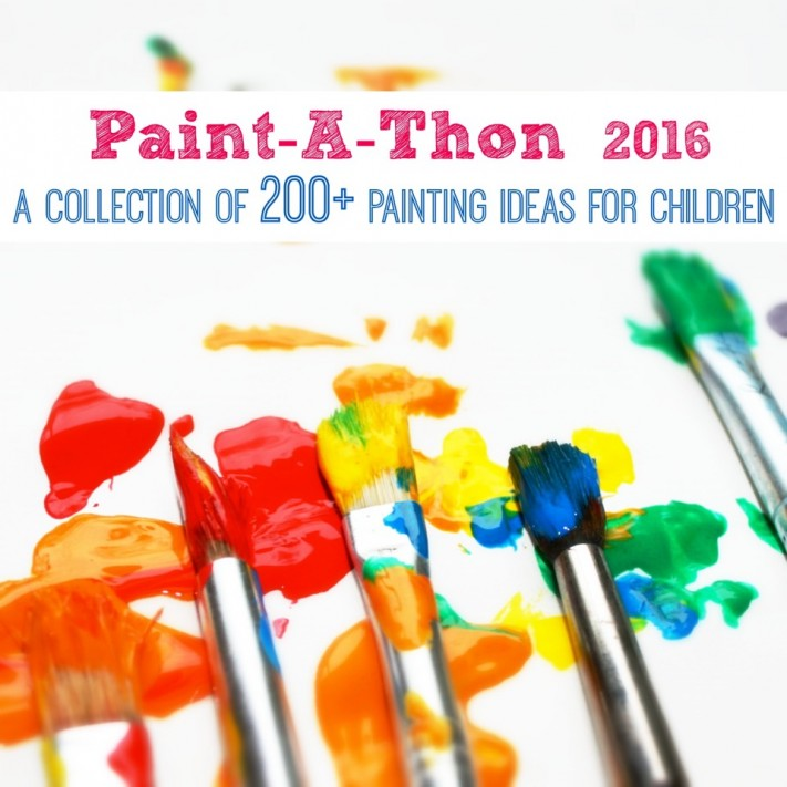2016 Paintathon - a collection of 200 painting ideas for children