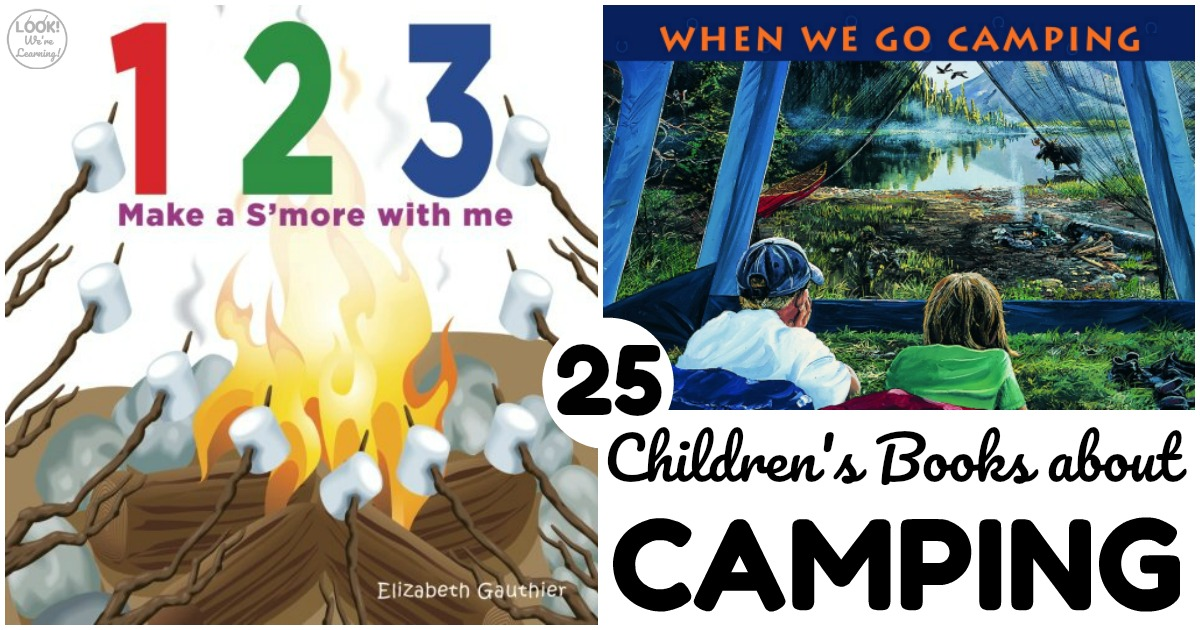 25 Camping Books for Kids to Read