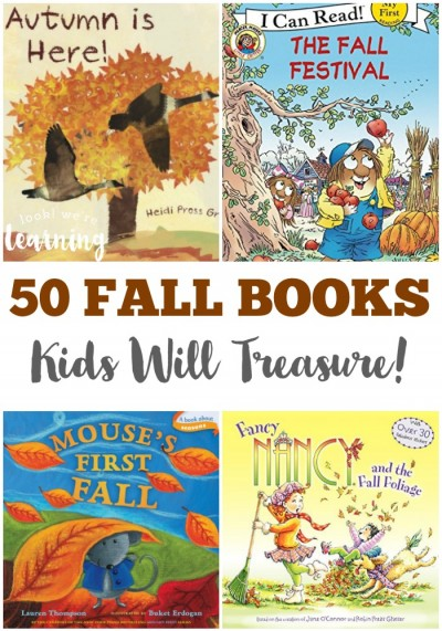 50 Fall Books for Kids