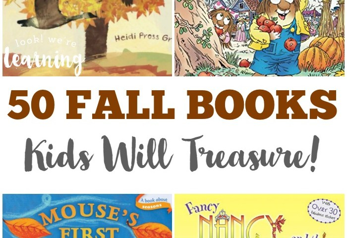 50 Fall Books for Kids to Treasure