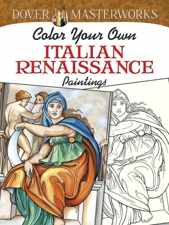 Color Your Own Italian Renaissance Paintings