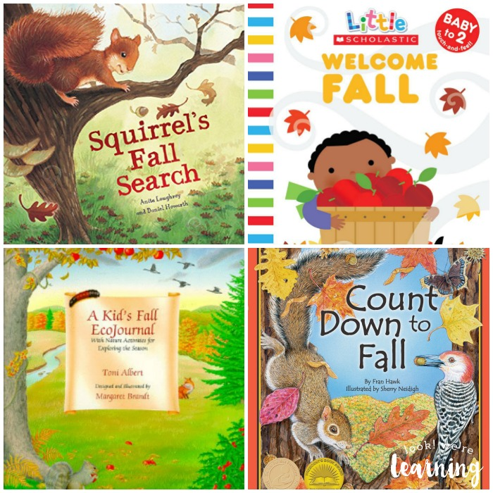 Beautiful Books about Fall for Kids