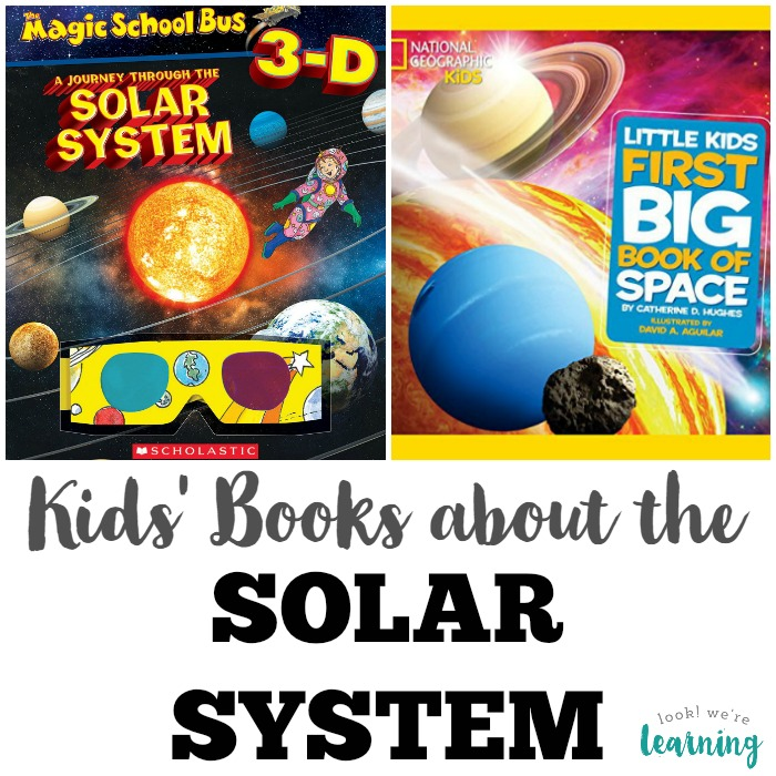 Books about the Solar System for Kids