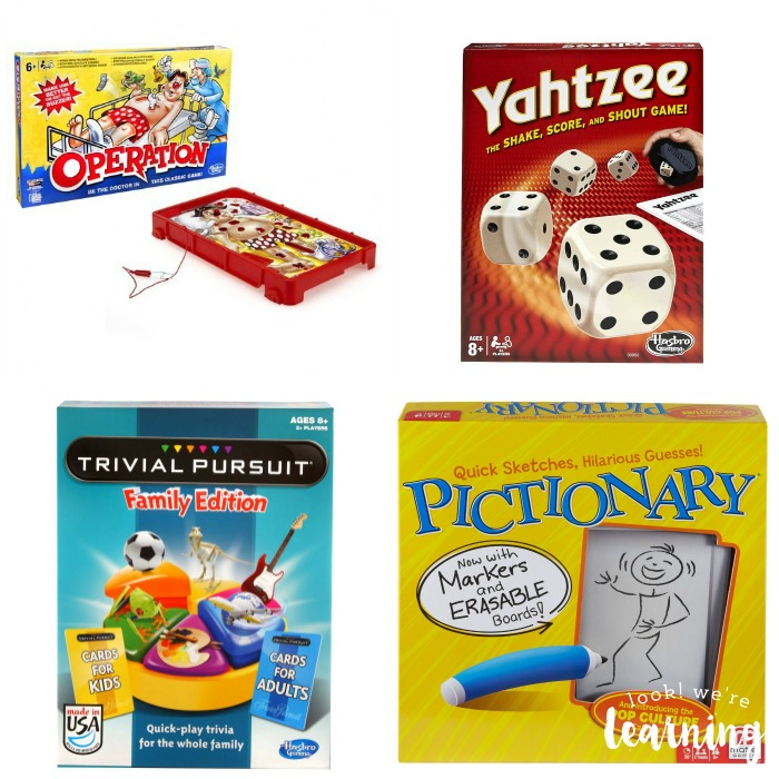 Cheap Games for Family Game Night